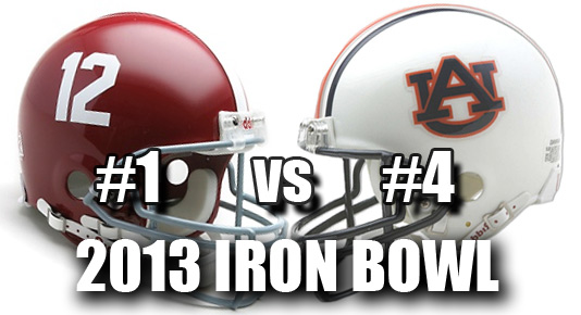 2013 Iron Bowl Alabama vs Auburn prediction